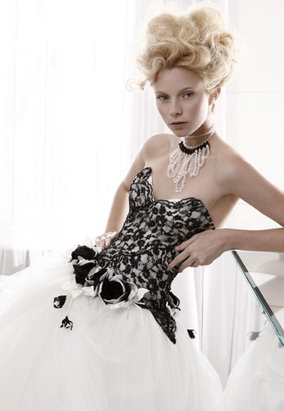 Wedding Gowns 2011black and white