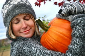 Pumpkin Face Mask to treat wrinkles
