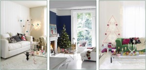 ideal home show christmas interiors