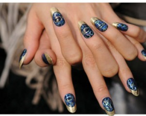 nail stained glass effect spring summer 2012