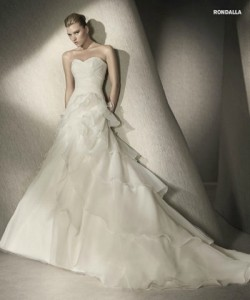 san patrick glamour collection wedding dresses 2012_4
