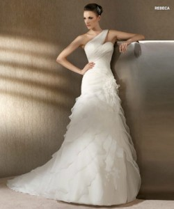 san patrick glamour collection wedding dresses 2012_5