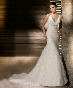 san patrick glamour collection wedding dresses 2012_6