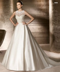 san patrick glamour collection wedding dresses 2012_8
