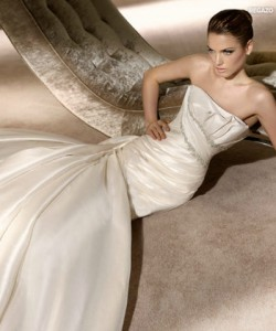 san patrick glamour collection wedding dresses 2012_9