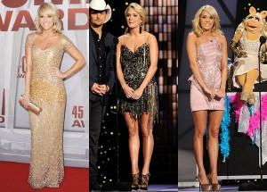 Carrie Underwood CMA Awards 2011 Dresses