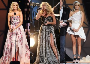 Carrie Underwood CMA Awards 2011 Dresses_1