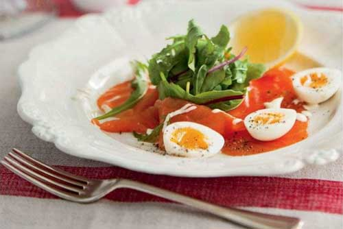 Smoked Trout Salad for Classic Christmas Lunch
