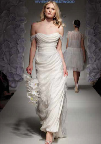 white hot latest wedding dresses from the runway 2012