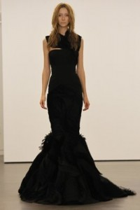 black wedding dresses 2012_1