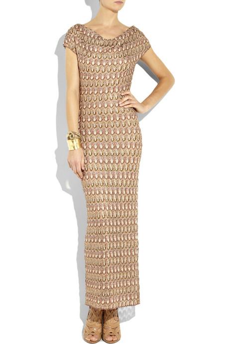 Knit Maxi Dresses 2012