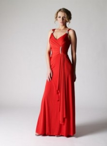 red party dresses for christmas parties_2