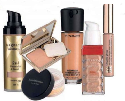 Max factor foundation for dry skin