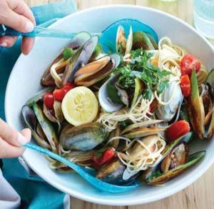 Speedy Shellfish Spaghetti Recipe