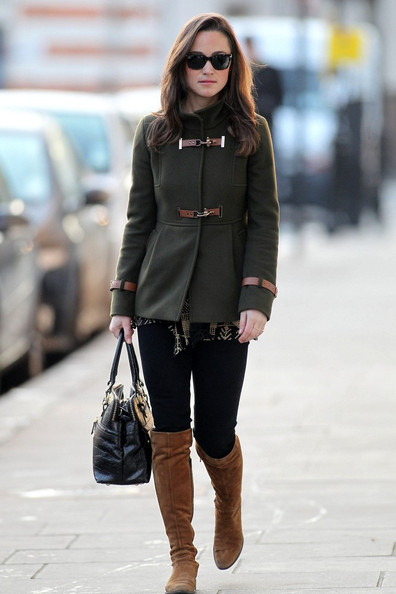 Pippa Middleton Winter Fashion Style