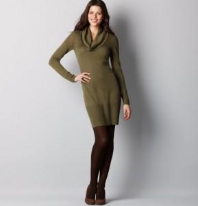 short sweater dresses winter 2012
