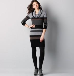 short sweater dresses winter 2012_2