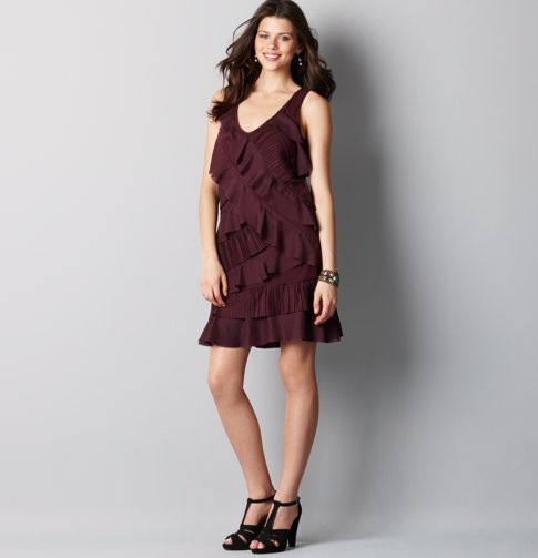 Simple Christmas Dresses 2012 For Women