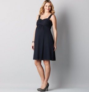 trendy maternity short black dresses