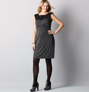 trendy maternity short black dresses_2