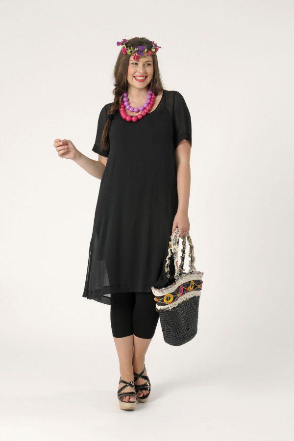 Fashion Female Plus Size Batwing Sleeve T Shirt Fat Women Clothing