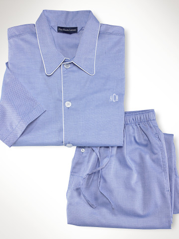 ralph lauren Classic Cotton Pajama Set