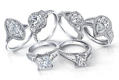 unique diamond engagement rings for women