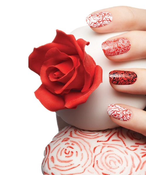 valentines day nail art design ideas 2012 - Nail Design Ideas 2012