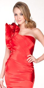 valentine's day red dresses 2012_5