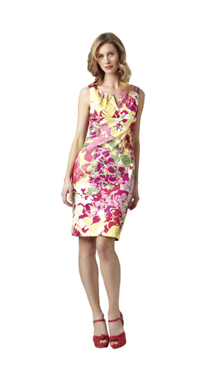 Adrianna Papell Spring 2012 Day Dresses Collection (3)