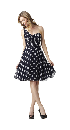 Adrianna Papell Spring 2012 Short Dresses (2)