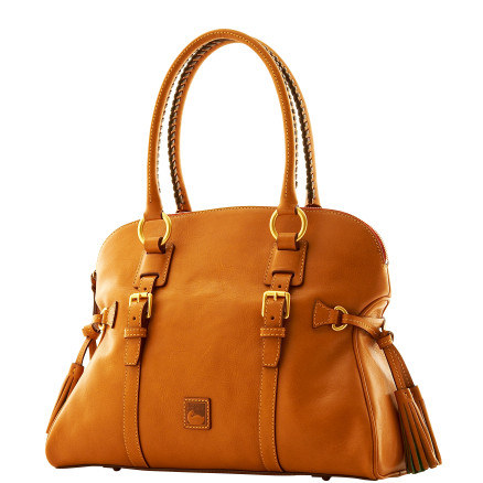 Dooney Bourke Florentine leather Domed Buckle Satchel