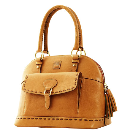 Dooney Bourke Florentine leather Domed Satchel