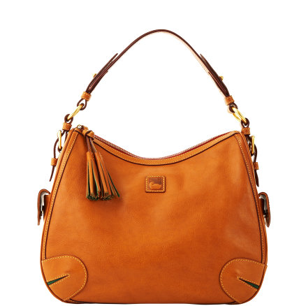 Dooney Bourke Florentine leather Side Pocket Hobo