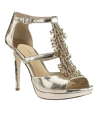 Gianni Bini Brianna T-Strap Sandals