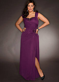 Plus Size evening dresses 2012_2