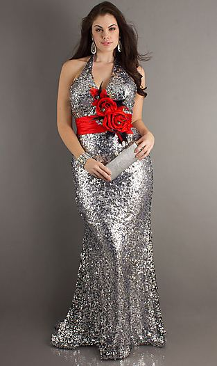 Plus Size evening dresses 2012_9
