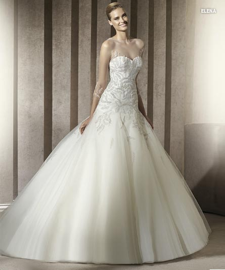 Pronovias Manuel Mota 2012 Bridal Collection  (1)