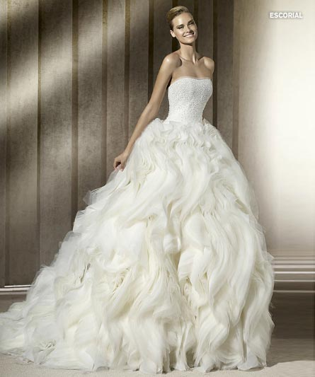 Pronovias Manuel Mota 2012 Bridal Collection  (10)