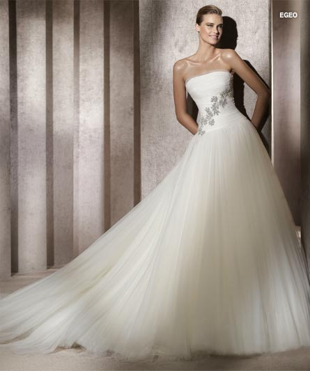 Pronovias Manuel Mota 2012 Bridal Collection  (2)