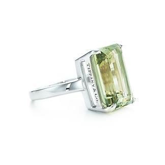 f4558b457 Tiffany Sparklers Praseolite cocktail ring