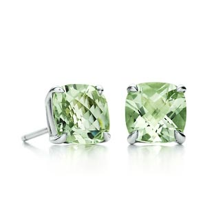 Tiffany Sparklers Praseolite earrings