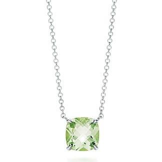 Tiffany Sparklers Praseolite pendant