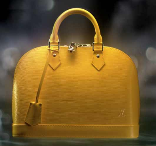 Louis Vuitton Handbags Celebrates Colors Citron