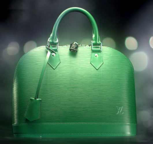 Louis Vuitton Handbags Celebrates Colors Menthe