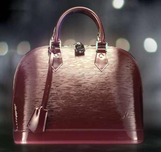 Louis Vuitton Handbags Celebrates Colors Prune electric