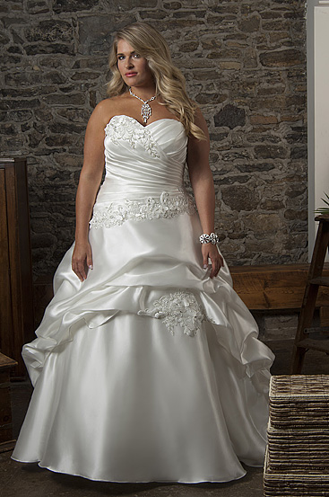 Plus Size Wedding Dresses by Callista (1)