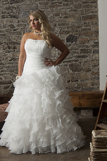 Plus Size Wedding Dresses by Callista (8)