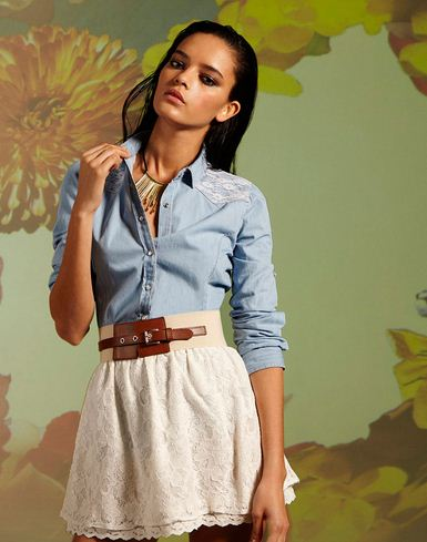 Stradivarius Lookbook March 2012_7