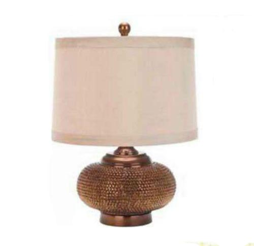 Alexis Lamp with geneva hard shade